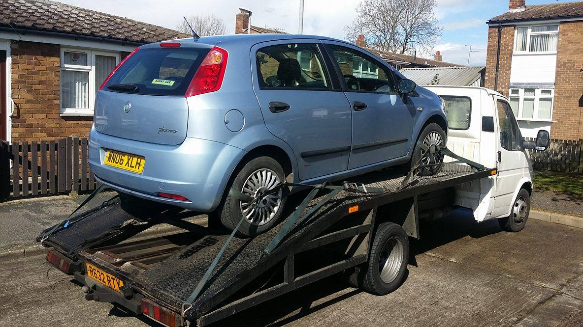 Scrap Prices Are Up - Punto Collected - Scrap Cars Hull